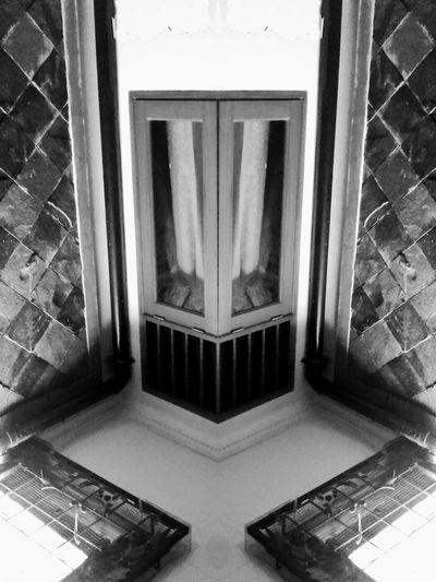 Dwijendela Duajendela Jendela Hitamputih Efekcermin Bnw Windows Mirror Monokrom Monochrome