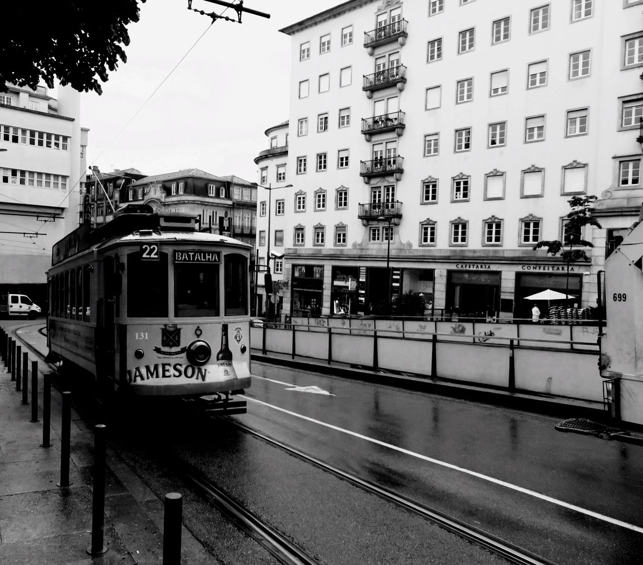 The Old Tram in Porto 😆👍‼️ Transportation City Building Exterior Street Built Structure Public Transportation Architecture Tramway City Street Tram Cable Car Text Outdoors Land Vehicle Day No People Sky Clear Sky