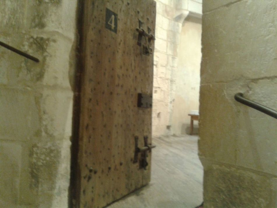 Architecture Architecture_collection Architectural Detail Door Wood Door Prison Door Visit Tower Ancient Prison La Rochelle, France