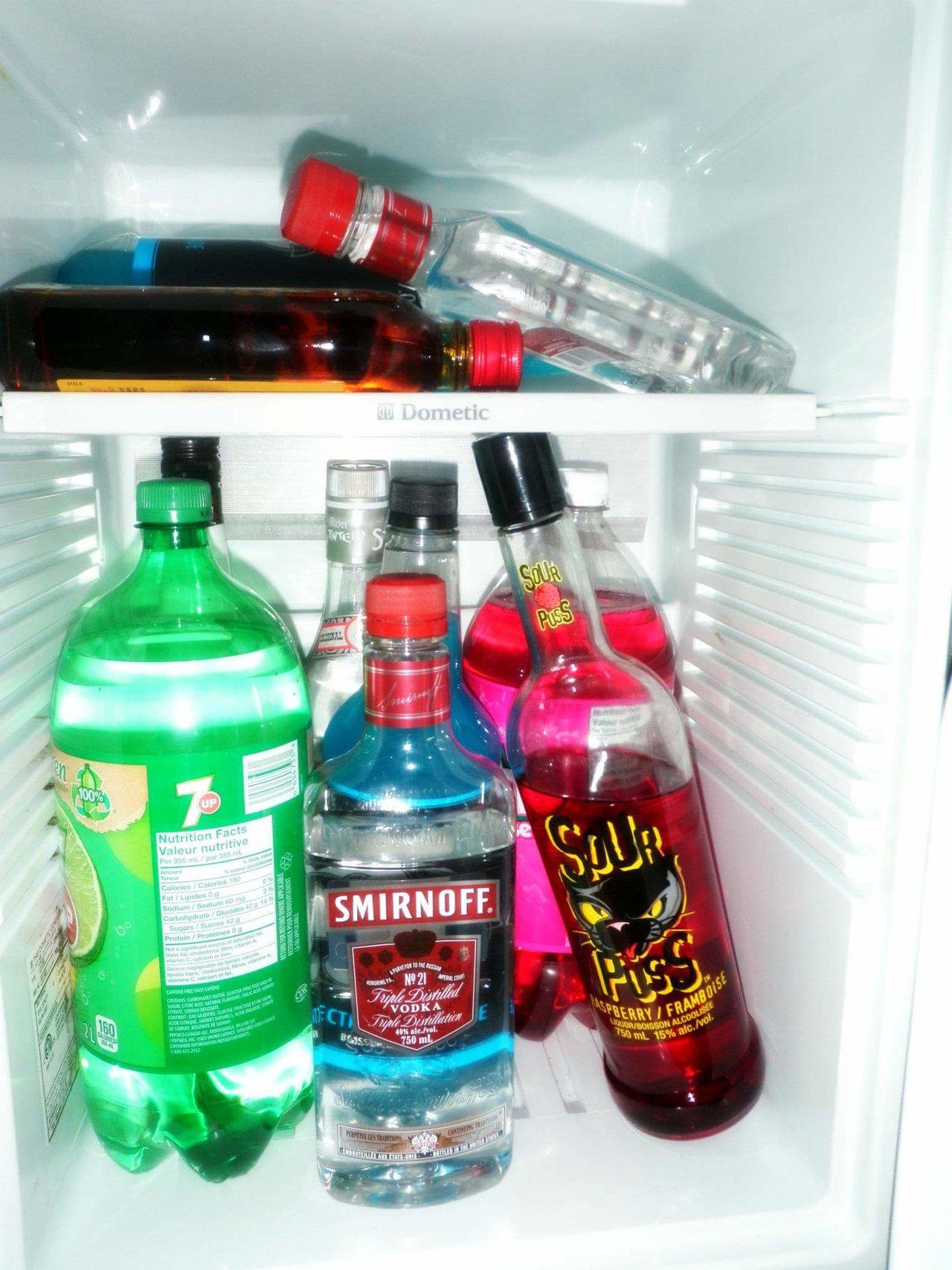 Bottle Red Green Color Illuminated Drink No People Indoors  White Background Liquor Alcohol Chase Mini Fridge