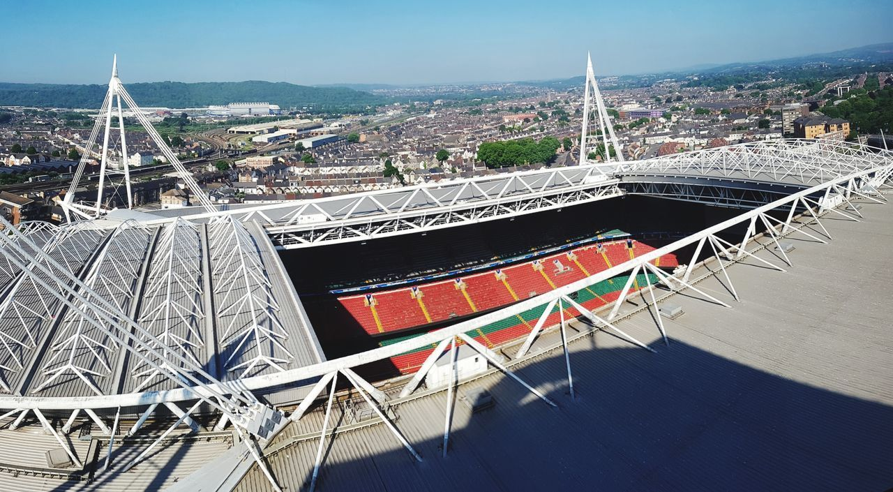 Cardiff2017 Wales UK Wales Cardiff City Cityscapes Champions League Stadium Architecture No People Outdoors Sky Day Cityscape City