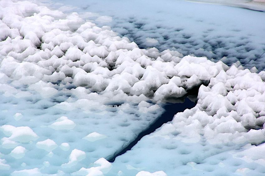 Tranquil Scene Full Frame Small And Big Ice Iceberg Cold Winter ❄⛄ Water Ice Age ❄ Ice Age