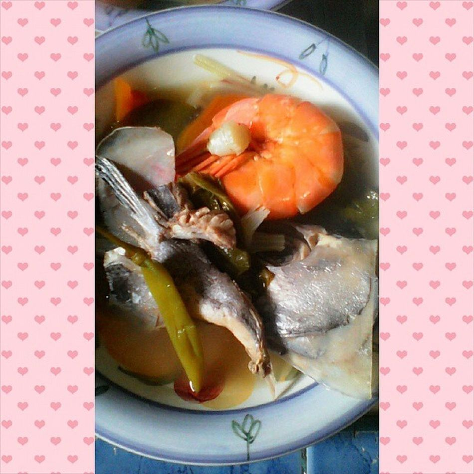 Lunch time. ?? Seafood Sugpo Yummy Photogrid