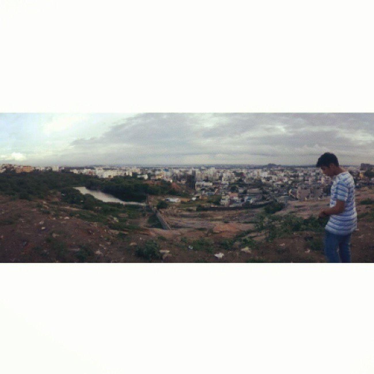 Panaroma! Jubliee hills Amazingplace Skyhasnolimit Hyderabad Cityscape