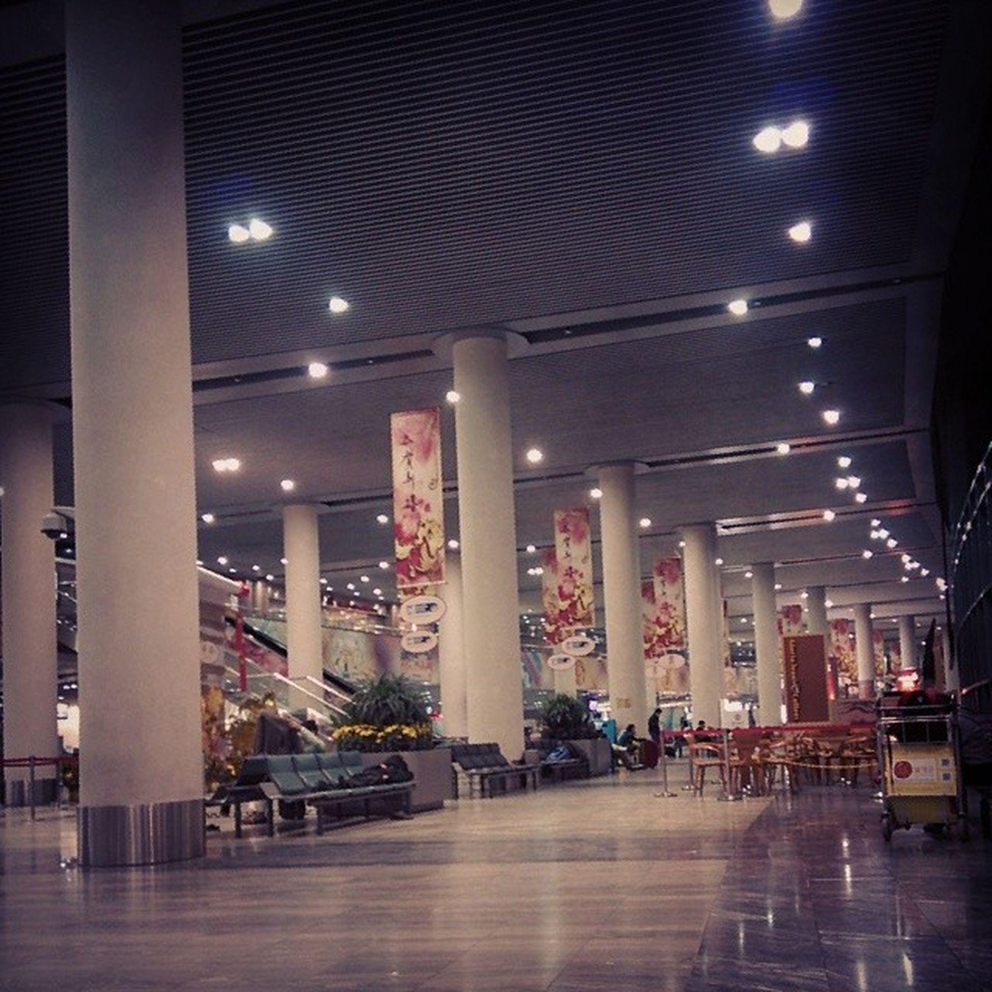 I'm in Macau la!