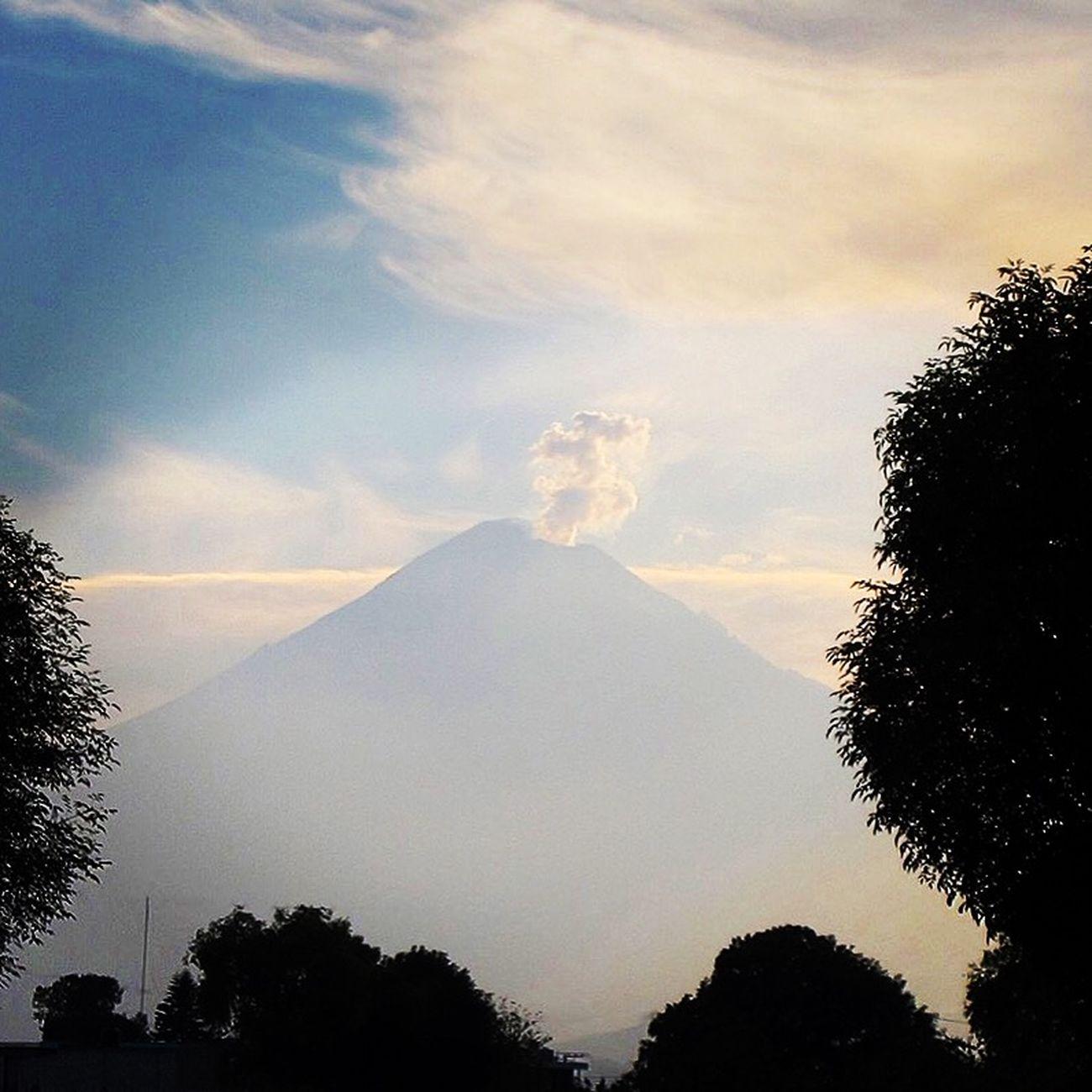 Open Edit Taking Photos Positivethinking Mexico Puebla Cholula Popocatepetl Say Hi!