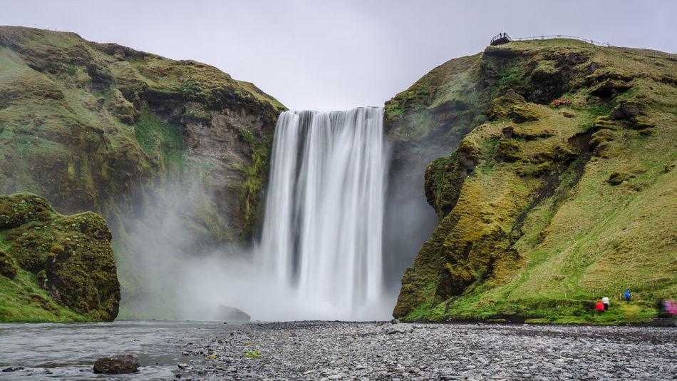 Beautiful stock photos of wasserfall, Beautiful, Beauty In Nature, Blurred Motion, Cliff
