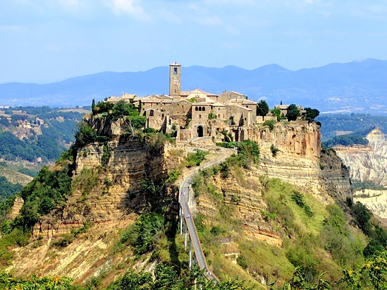 Architecture History Travel Destinations City Tourism Castle Outdoors Mountain No People Civita Civita Di Bagnoregio Citta Turismo Viaggi Viaggiare TripTurism Travel Travelers Travel Photography Travels Italy Italia Lazio Italy🇮🇹 Adapted To The City EyeEmNewHere