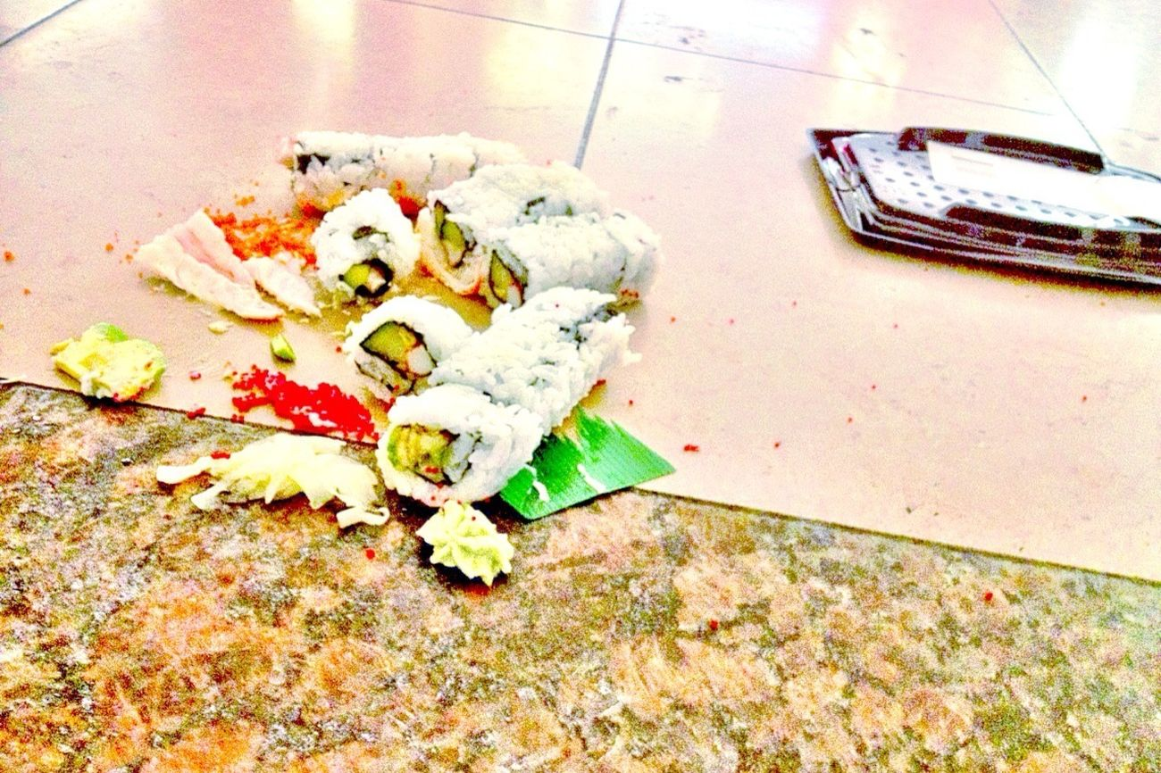 My Sushi Rolls Over The Floor