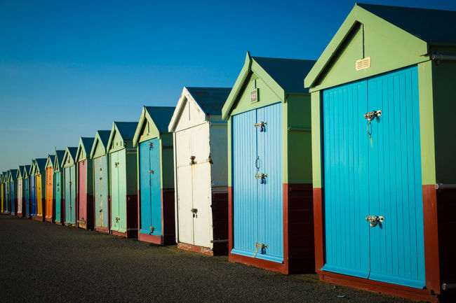 Hove beach huts. Beach Seaside Hut