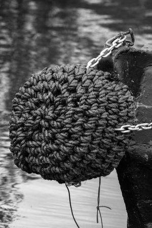 Outdoors rope boat canal Water