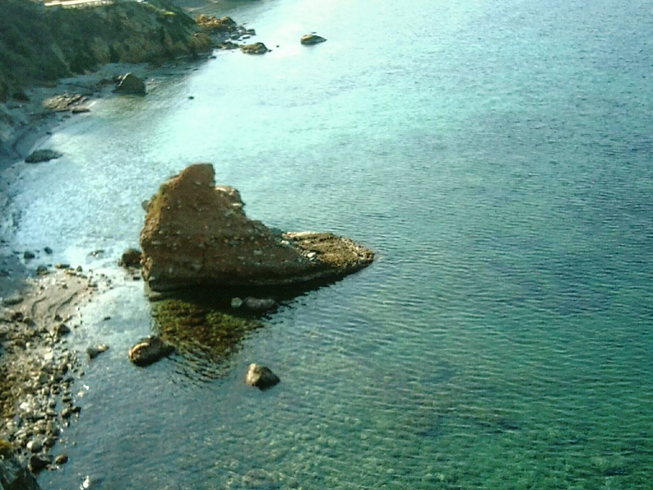 Doğal Oluşum Deniz Plaj Yaz Sıcak Gunes Doğa Harikası Ayak😉 Güvercinada Mevkii Kuşadası Türkiye