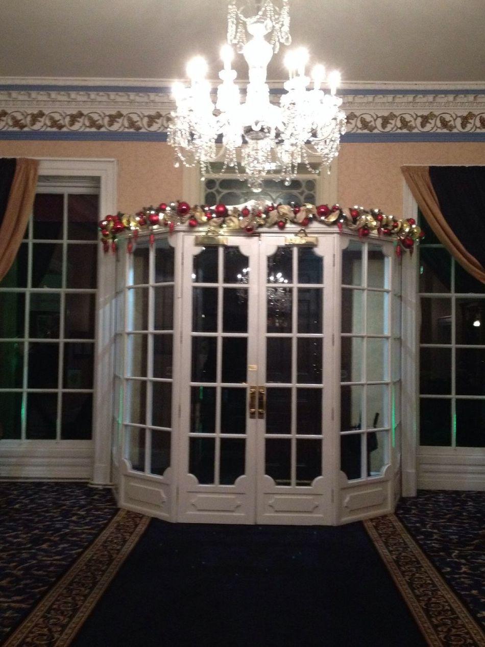 The beautiful entrance door
