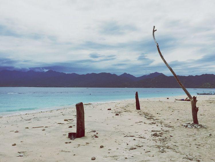 Desert Island Beach Life Sand Natural Beauty Bali Gili Islands