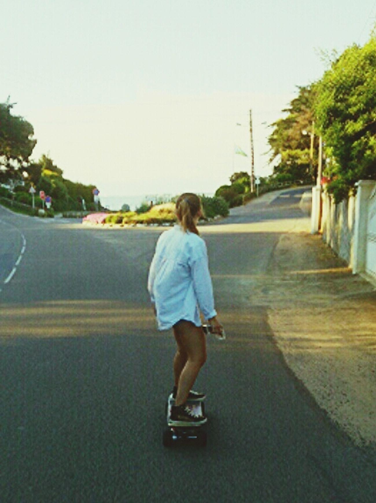 Skate Girl Skate Me Love