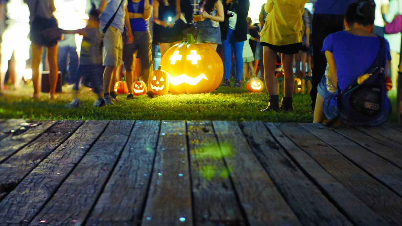 Beautiful stock photos of pumpkin, Boardwalk, Casual Clothing, Celebration, Enjoyment