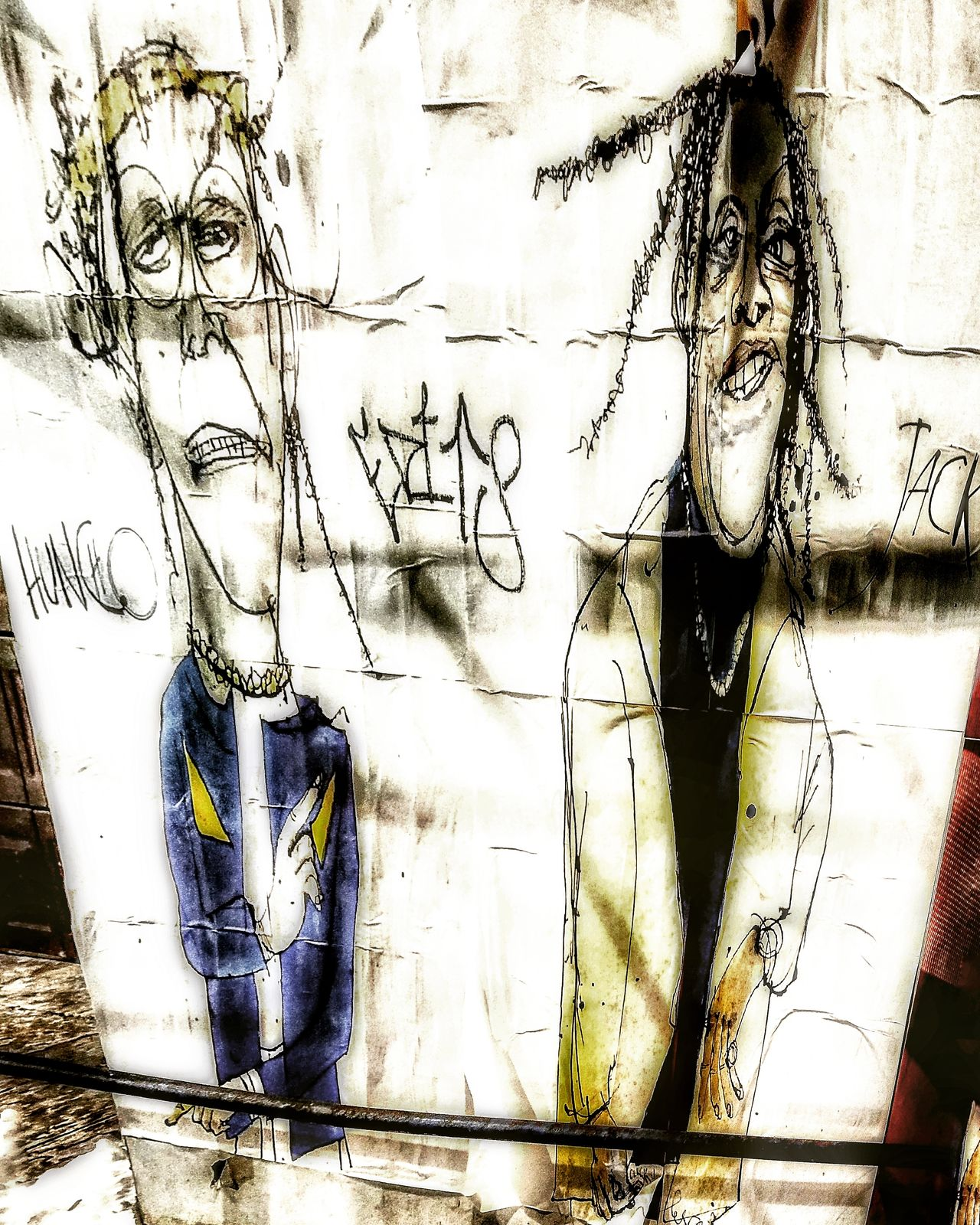 Posted Bills Graffiti Day Outdoors Backgrounds One Person Human Body Part Youth Culture Young Adult Human Hand Close-up Only Women People Adults Only Adult