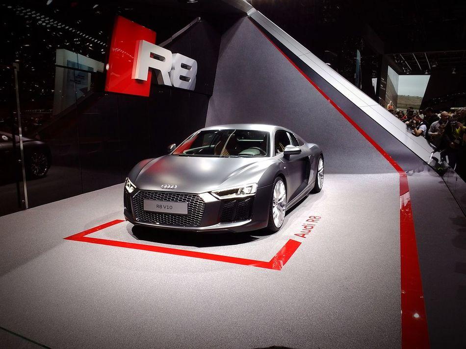 Audi Audi R8 II GenevaInternationalMotorShow2015 GIMS2015 Swiss