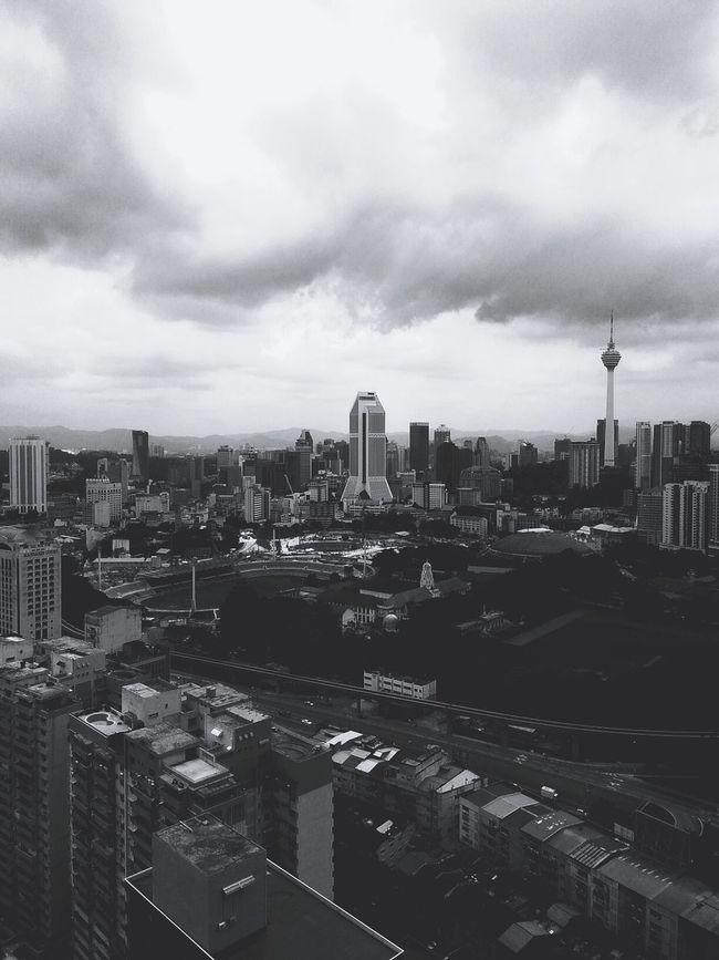 Grey Sky in Kuala Lumpur