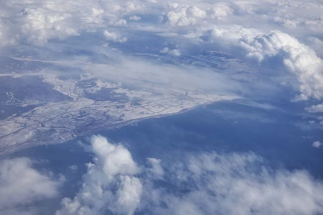 Japan Photos Winter Wonderland Island Travel WHiTE WORLD Island View  Clouds And Sky Cloudpark Nature Window Seat Birdview On Board Aerial View Aerial Shot Landscape From An Airplane Window Snow Covered Streamzoofamily Ultimate Japan Landscapes With WhiteWall