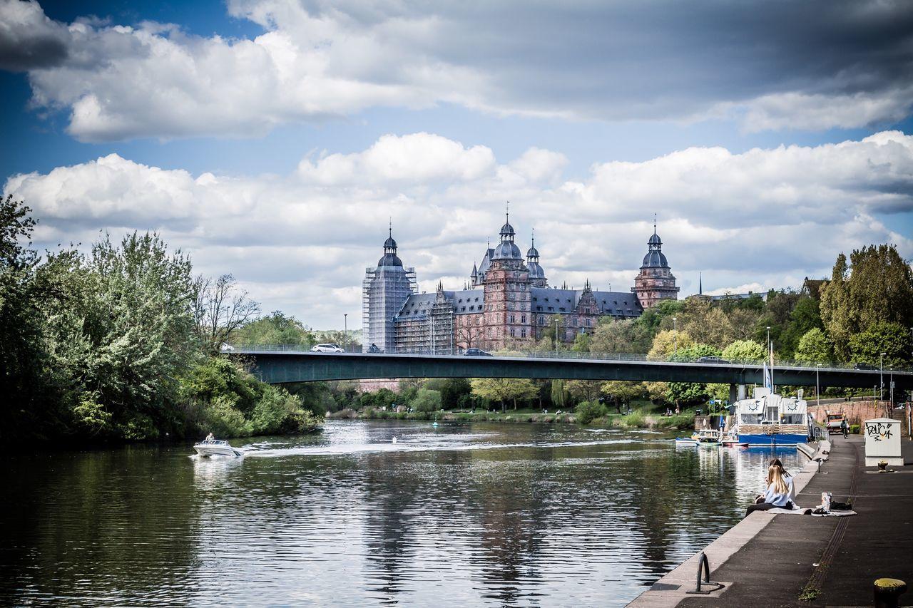 Original Experiences Feel The Journey City Life Travel Aschaffenburg Castle GERMANY🇩🇪DEUTSCHERLAND@ Germany River View Riverside Main River Main Bridge View Castle View