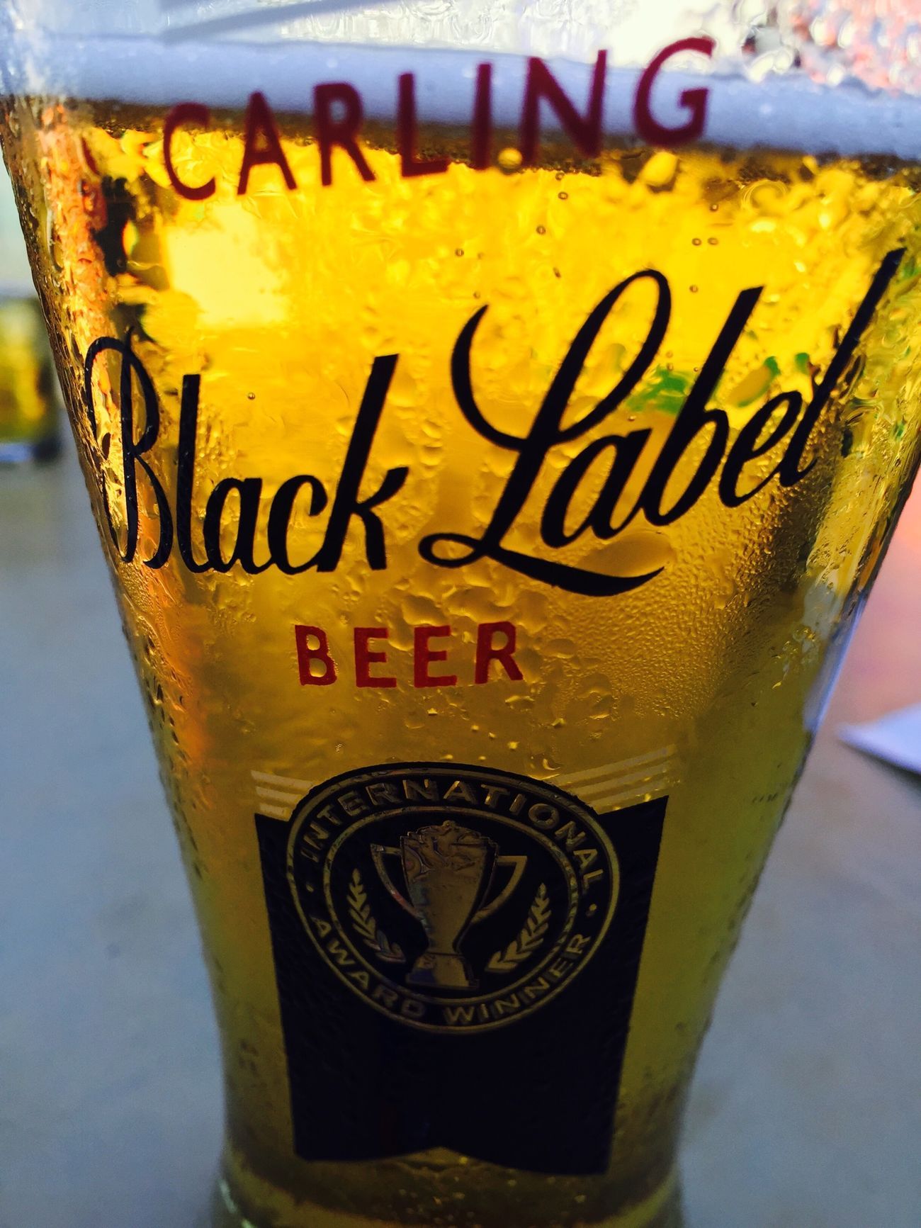Yes beer is good for the soul 🍺💄💋 Blacklable Drinking A Cold One Drafts Are Fun