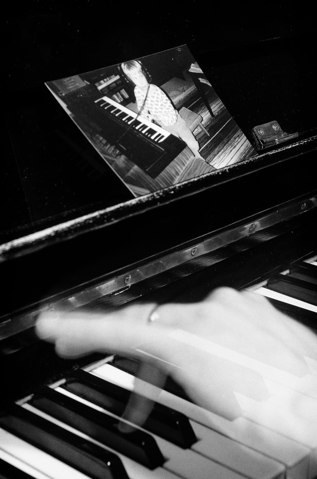 A series of three black-and-white photos of myself playing the piano, or at least pretending to. Black And White Close-up Fingers Human Hand Indoors  Musical Instrument Night Piano Piano Keys Piano Moments Selfie Transparent