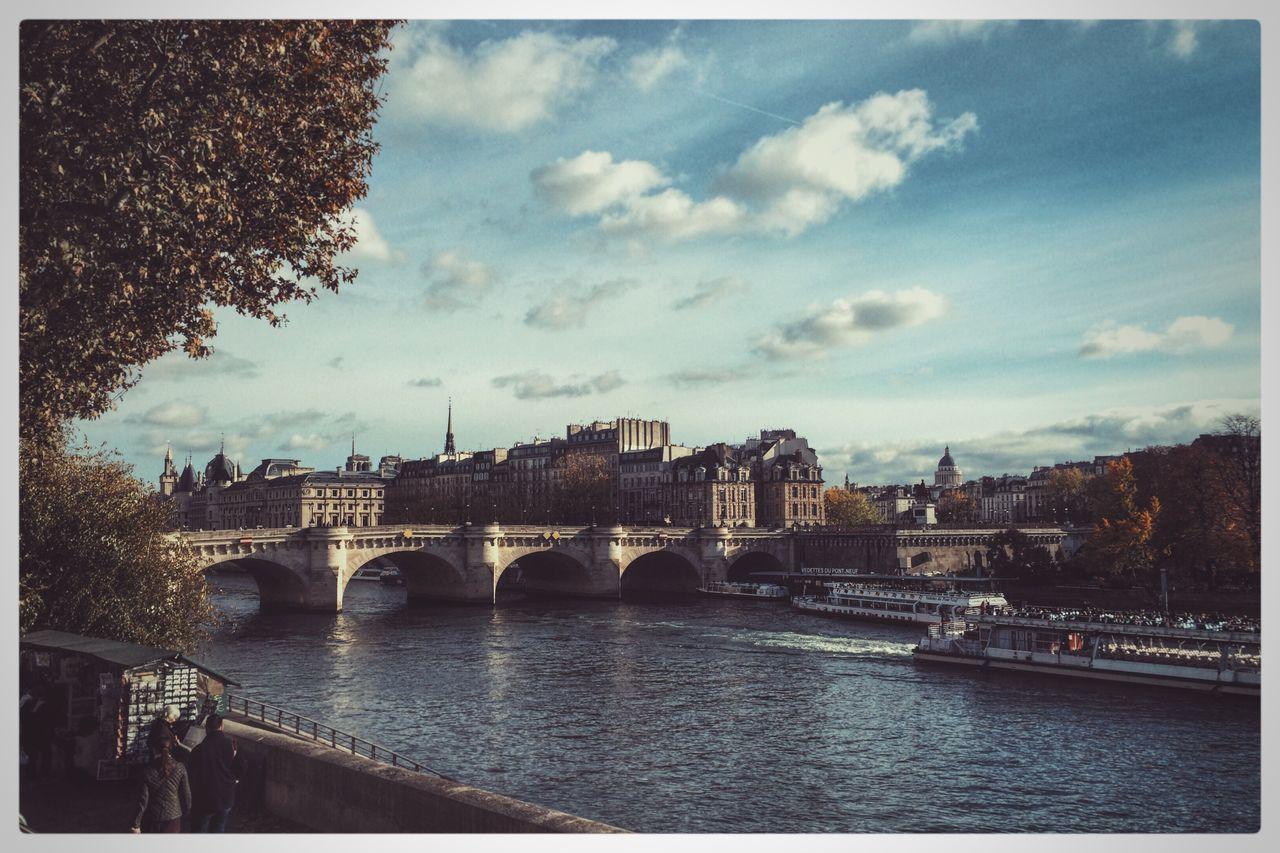 Paris Travel France Bridge First Eyeem Photo