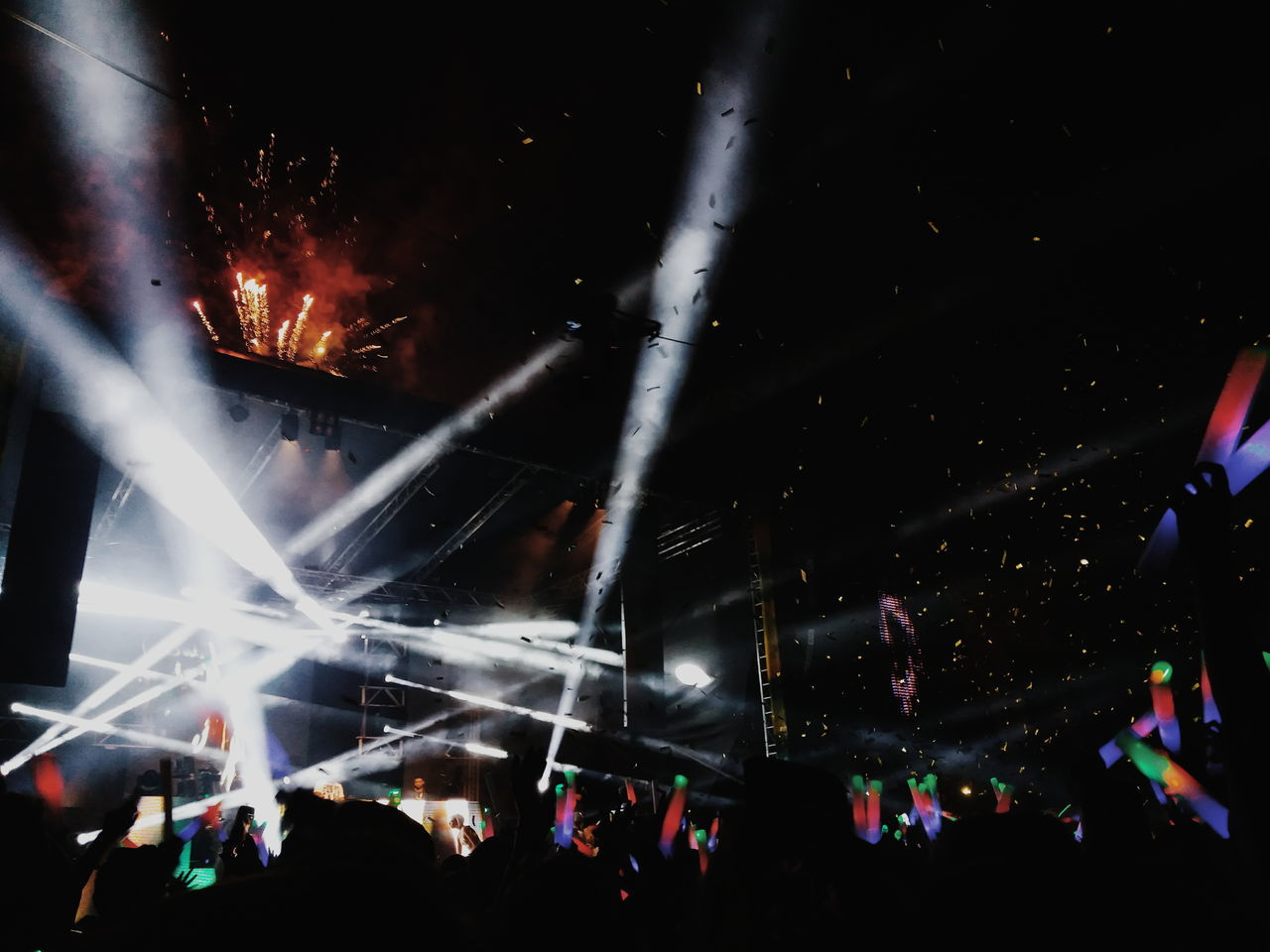 Arts Culture And Entertainment Night Music Nightlife Performance Popular Music Concert Event Stage - Performance Space Crowd Music Festival Large Group Of People Performing Arts Event Stage Light Fun Enjoyment Audience People Illuminated Fan - Enthusiast Celebration