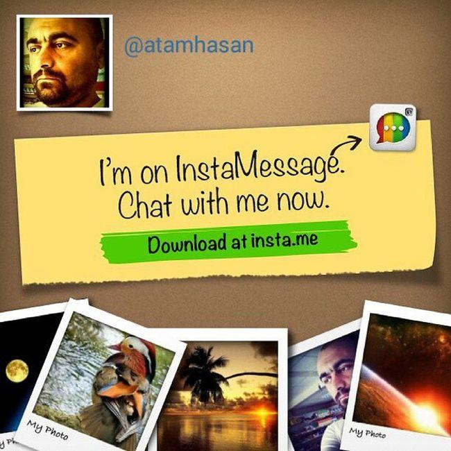 Haydi! Instagram kullanıcıları için GERÇEK mesajlaşma uygulaması! @instamessage_app indirmesine git, hemen sohbete başlayalım. Instamessage @fira_maktub @metin_atam @ersoy.ozbas.98 @hilalxx1905