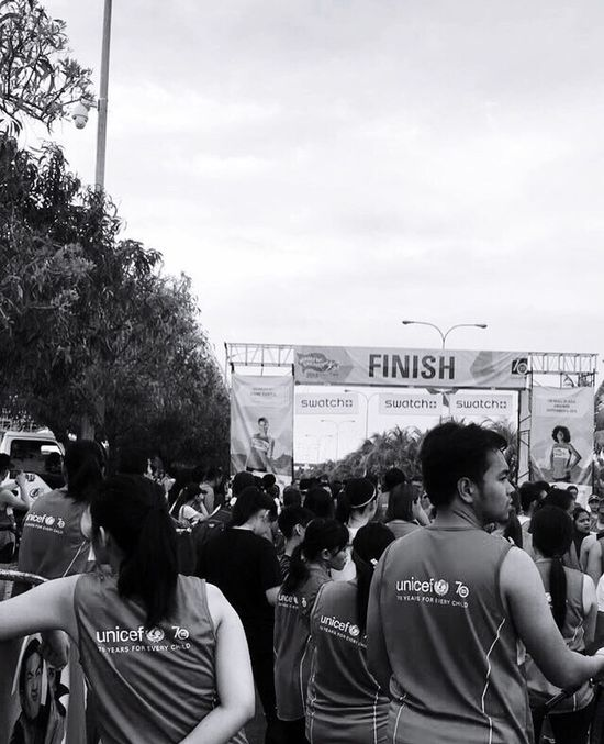 After the long run. Monochrome Candid Photography Fun Run HeroesForChildrenRun2016 Monochrome Photography