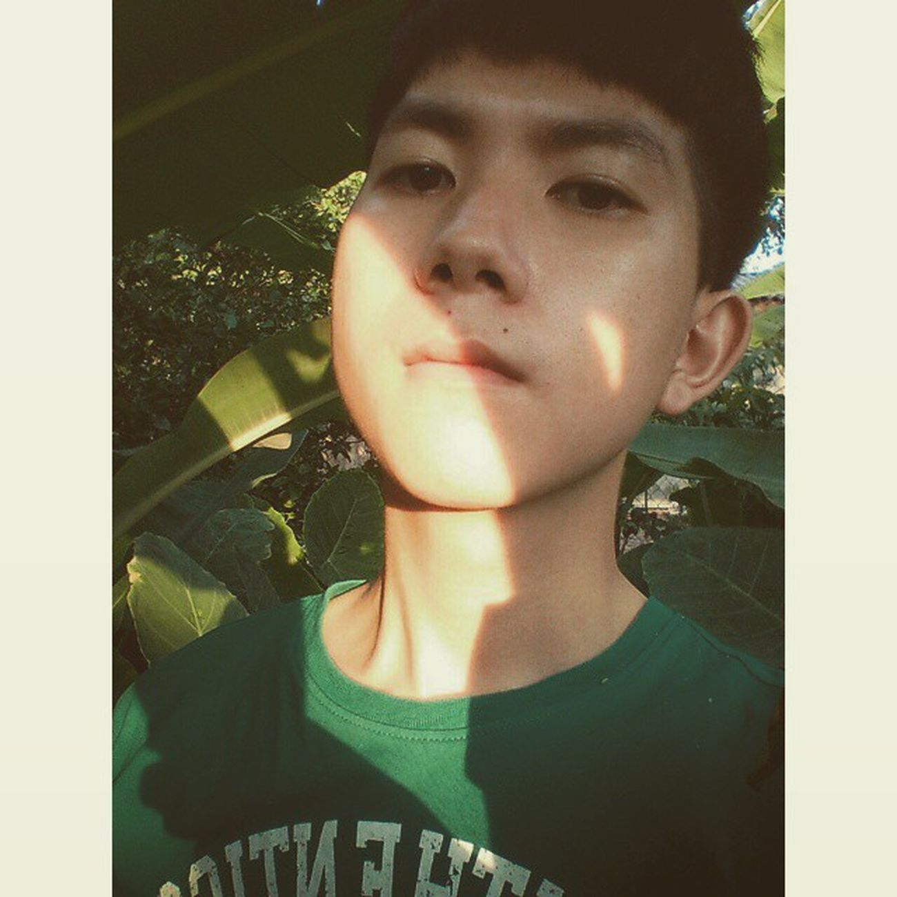 Sunshine and me! ☀☀☀🐶 Squaredroid Vietnamboys Vietnam Garden Sunshine