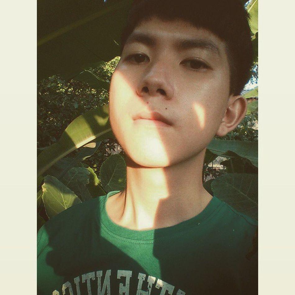 Sunshine and me! ☀☀☀🐶 Squaredroid Vietnamboys Vietnam Garden Sunshine