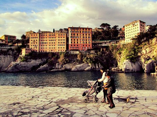 EyeEm gallery at Camogli by Simodenegri