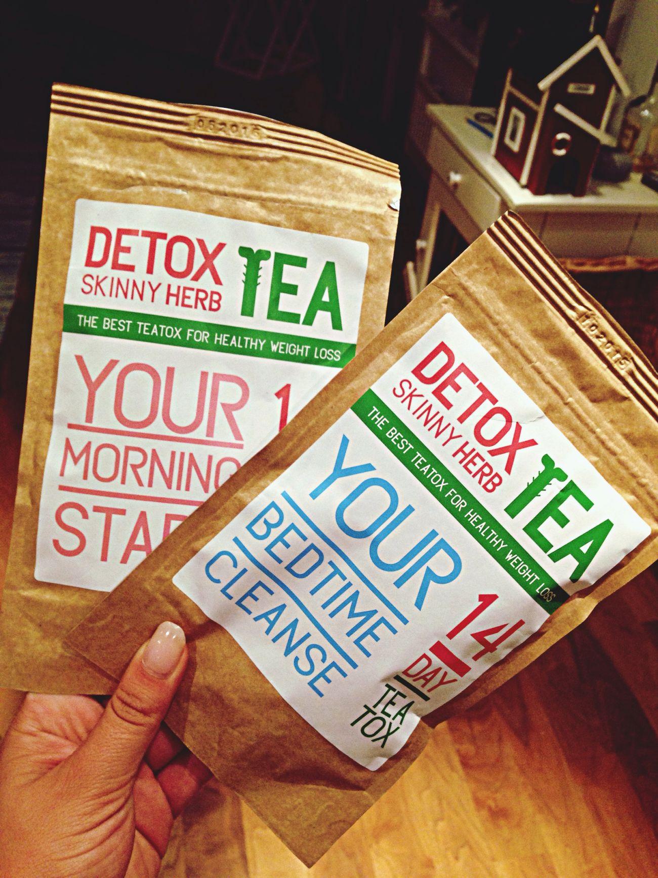 It's Tea Time... Detox Time