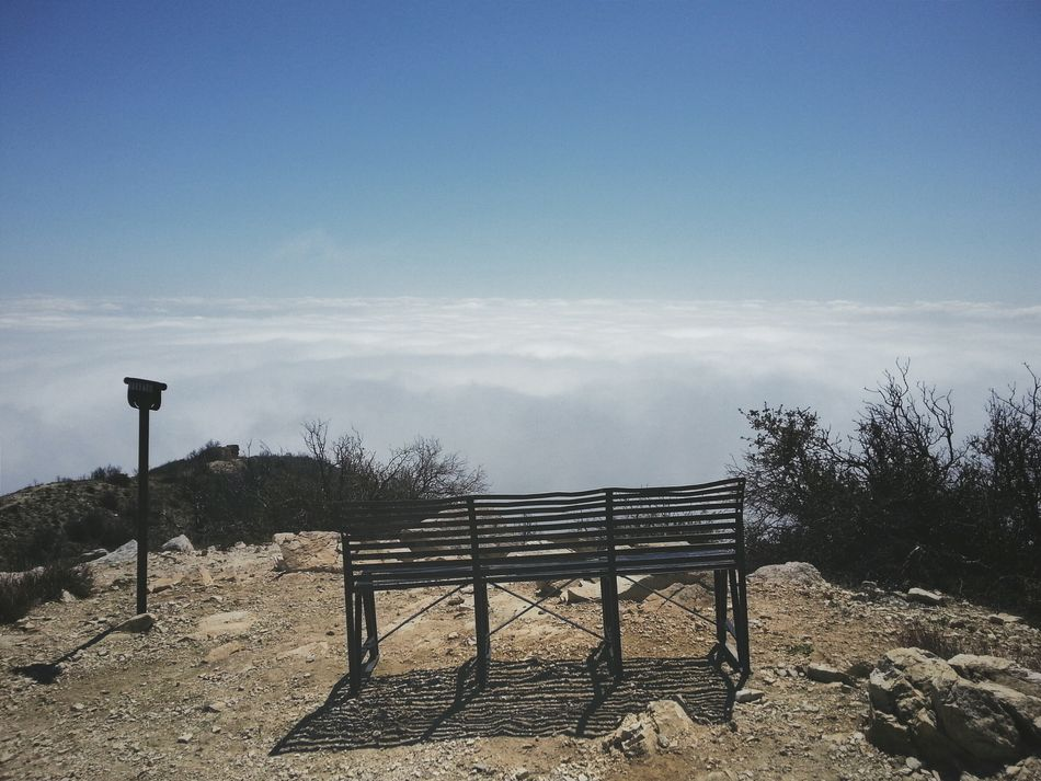 Row 1, Seat 1. Mount Lowe, Summit. California Landscape Nature Hiking