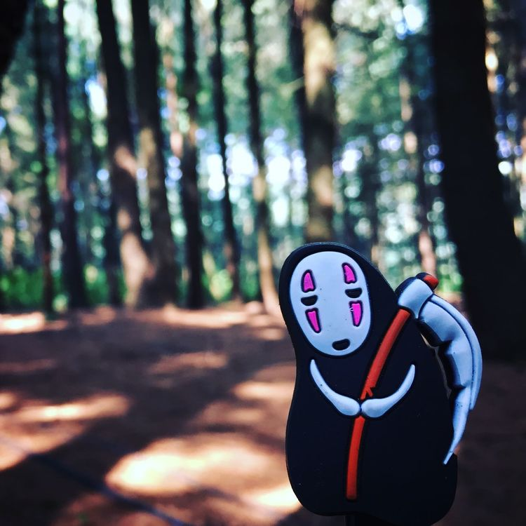 Kaonashi In The Forest