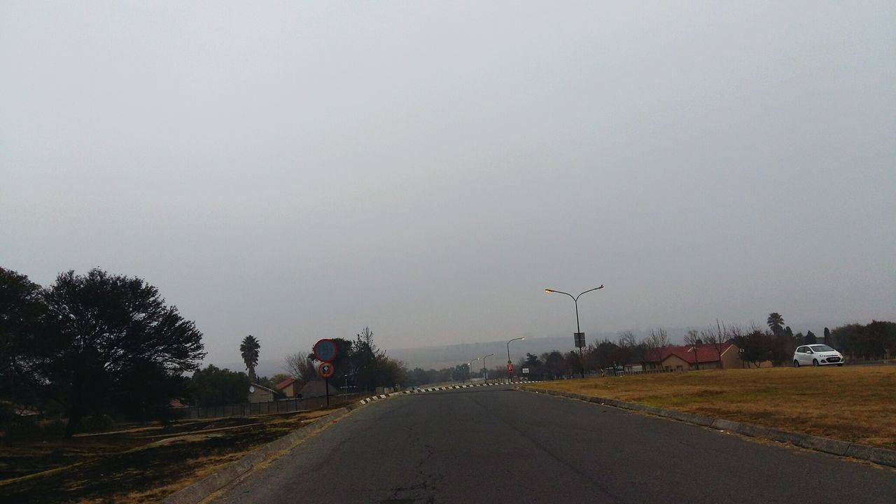 Early Morning Smog Smoggy Sky Smogginess Yuck!! Polution Poluting Our World On The Way The Journey Is The Destination