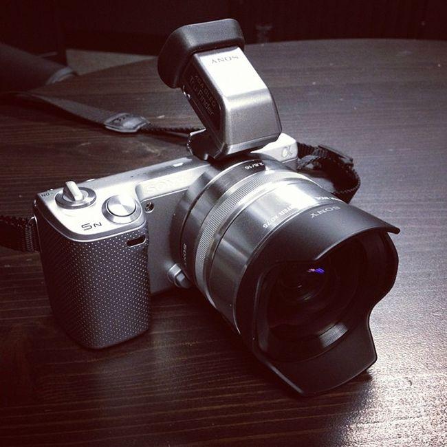 My Sony #NEX5N got hooked up yesterday. #LCDVF #VCLECU1 Nex5n Vclecu1 Lcdvf