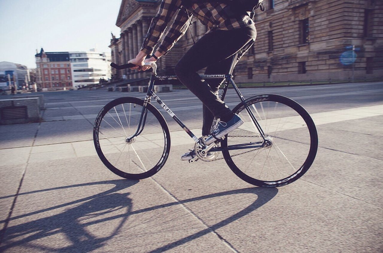 Beautiful stock photos of city, Bicycle, Bicycling, Clear Sky, Cycle