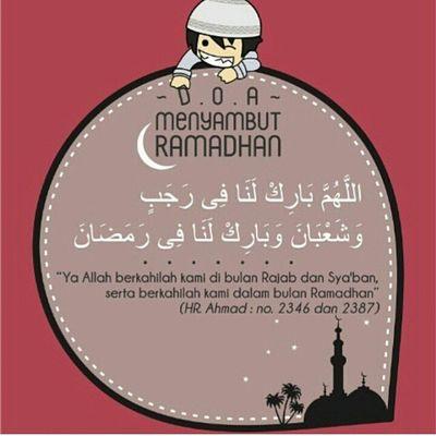 Selamat pagi mari menyambut ramadhan 🙌🙌