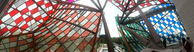 Visiting Museum People Visiting People And Art Art Inspection Art Gehry Architecture Architecture_collection Architectural Detail Buren Fondation Louis Vuitton  Landscape Panorama Panoramic Panoramic Photography Panoramic View Panoramashot Human Meets Technology The Architect - 2016 EyeEm Awards