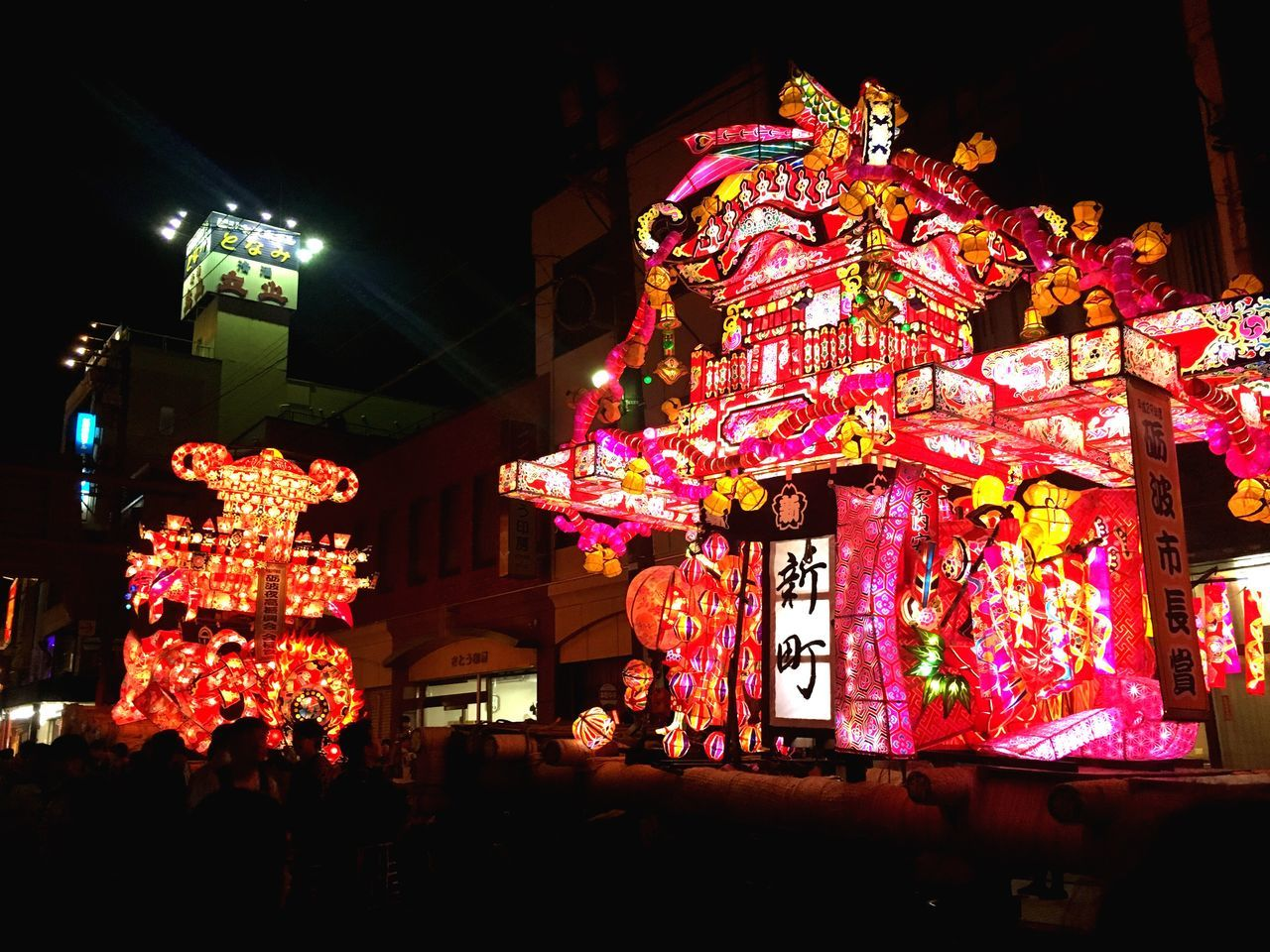 Night Illuminated Tradition Cultures Traditional Festival Lantern Toyama Japan Festival Toyama