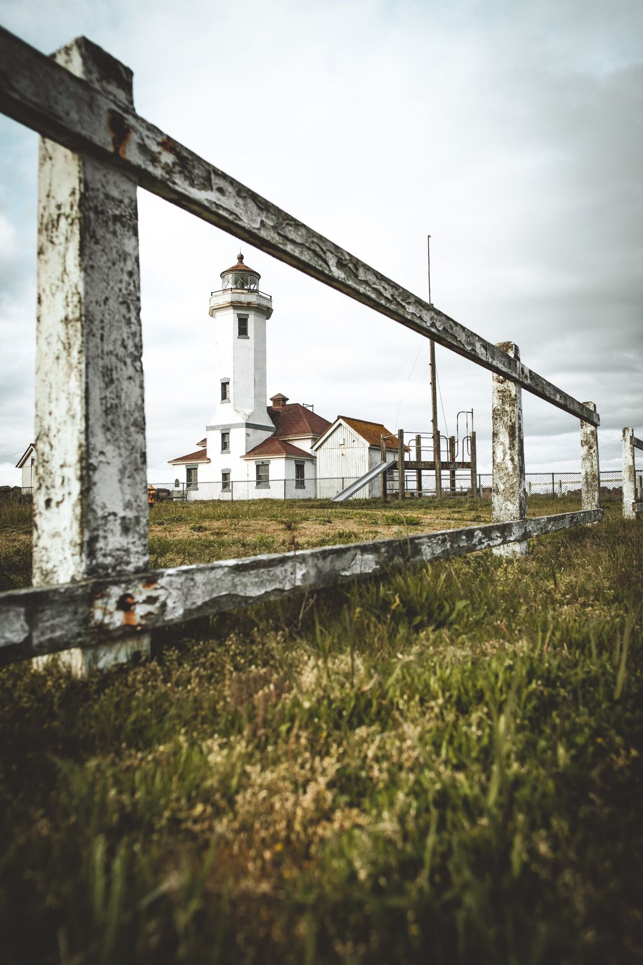 Live For The Story Built Structure Architecture Day No People Grass Outdoors Building Exterior Sky Nature Beach House Home Ocean Pacific Northwest  PNW Travel Love Sand Fence Porttownsend Washington Sky And Clouds Lost