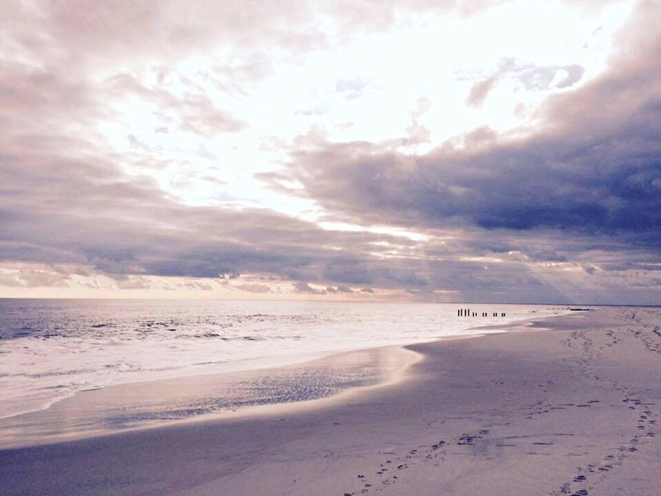 Cape May, New Jersey January2016 Winter Beach Day