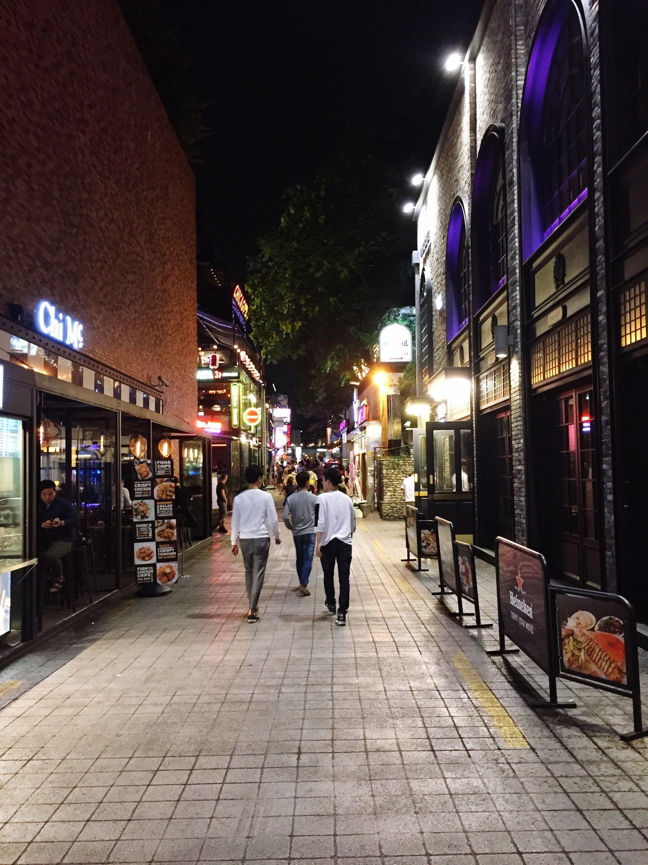 Walking Around The City  Seoul City Cityscape Nightphotography