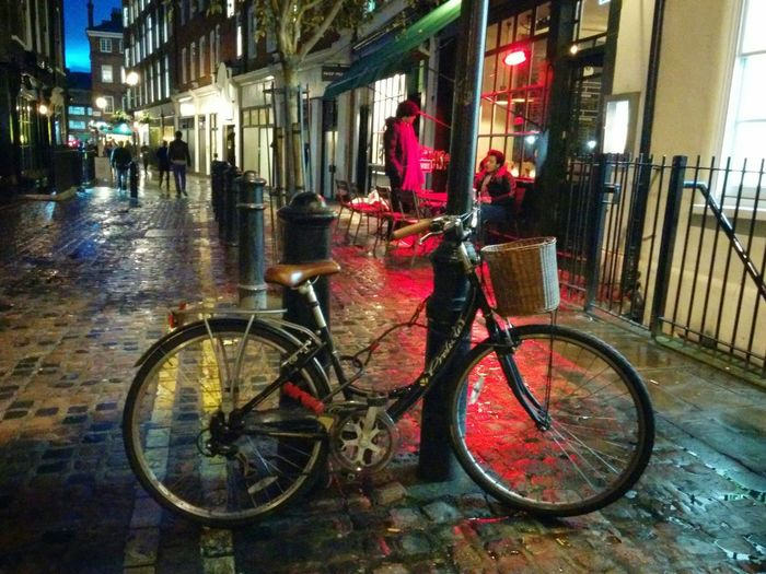 Nite Bike Bicycle Street Photography