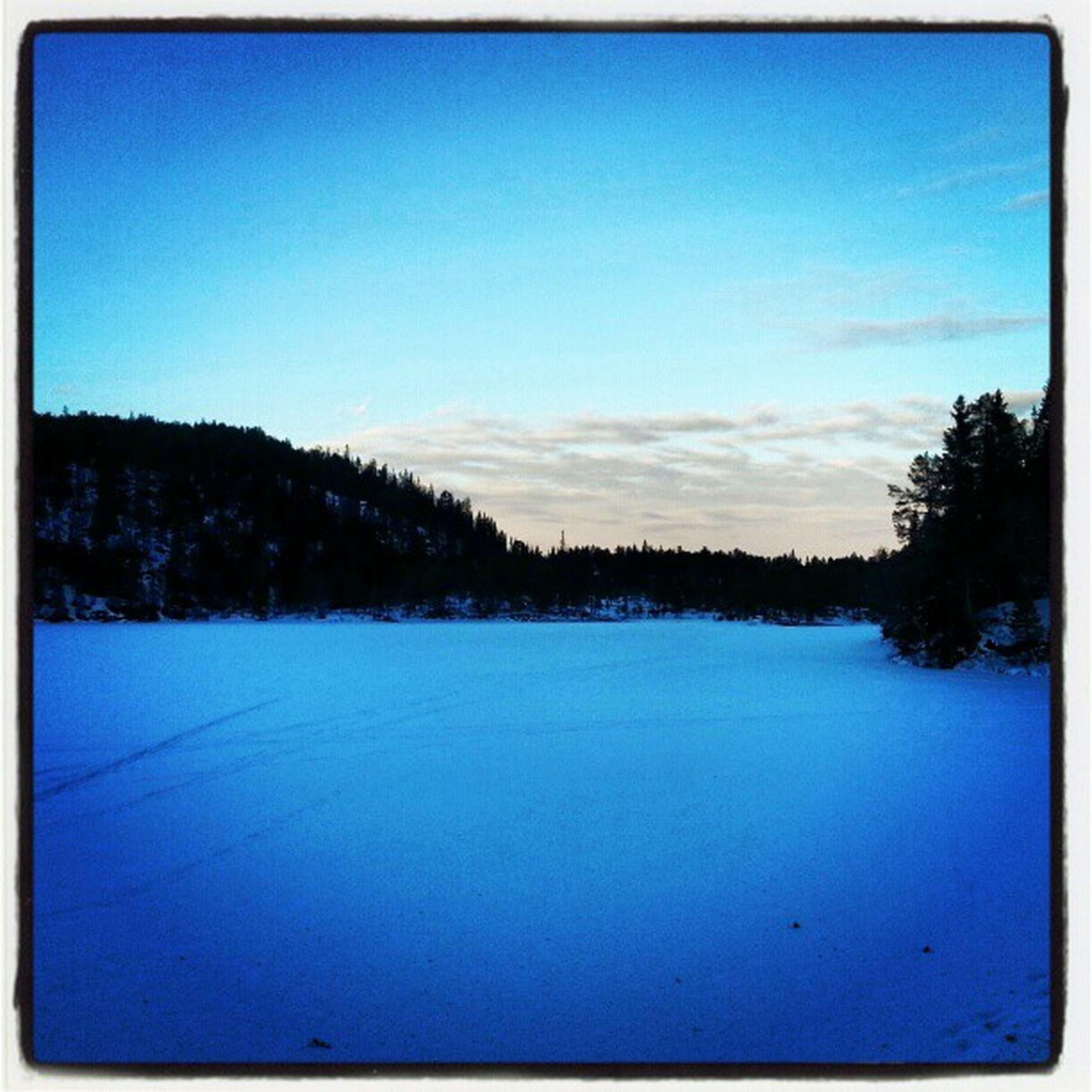 #frozen #lake #winter #december #kobberdammen #sky #clouds Clouds Sky Winter Frozen December Lake Kobberdammen