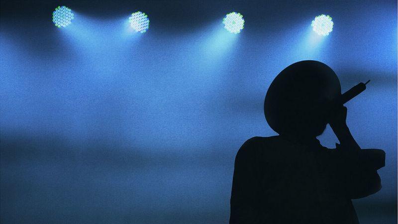 whi is behund the black...... Live Music Movits Festival VSCO