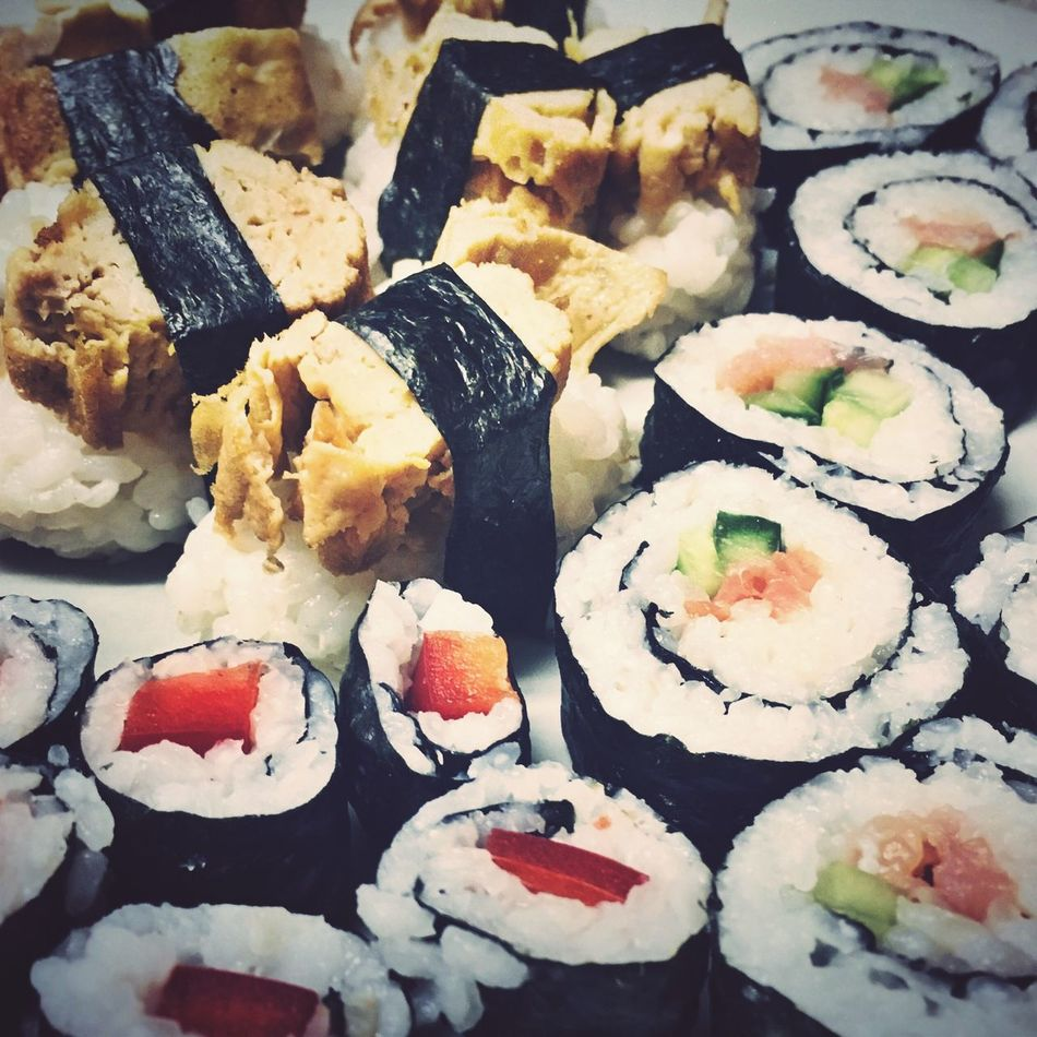 Sushi Food Food And Drink Ready-to-eat No People Indoors  Healthy Eating Freshness Sushi Close-up Day